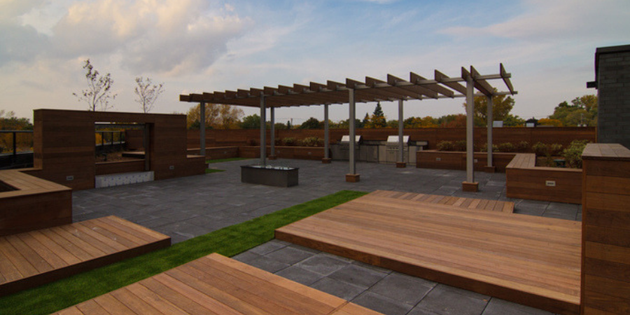 Rooftop Decks Green Decks
